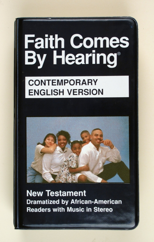 """Faith Comes by Hearing"" New York: American Bible Society, 1998"